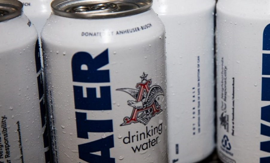 Anheuser-Busch Water Can