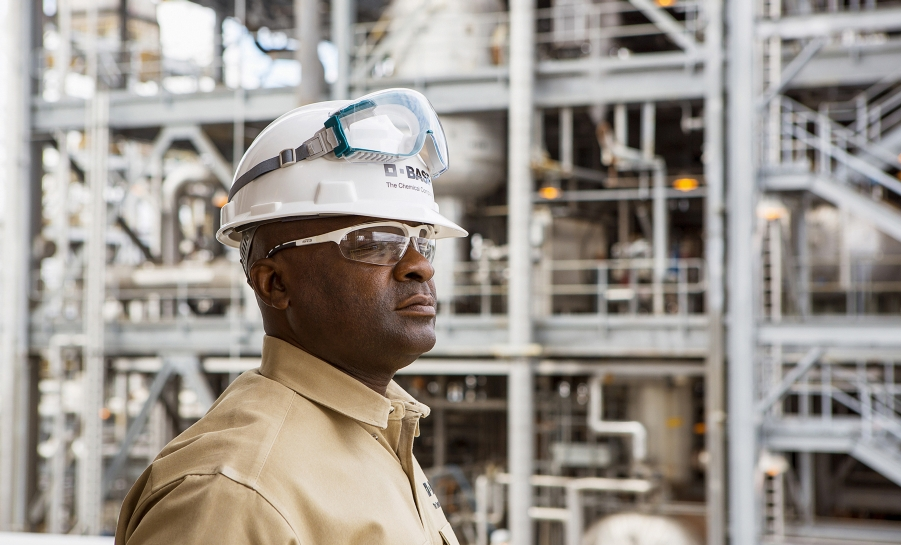 BASF Facility Worker