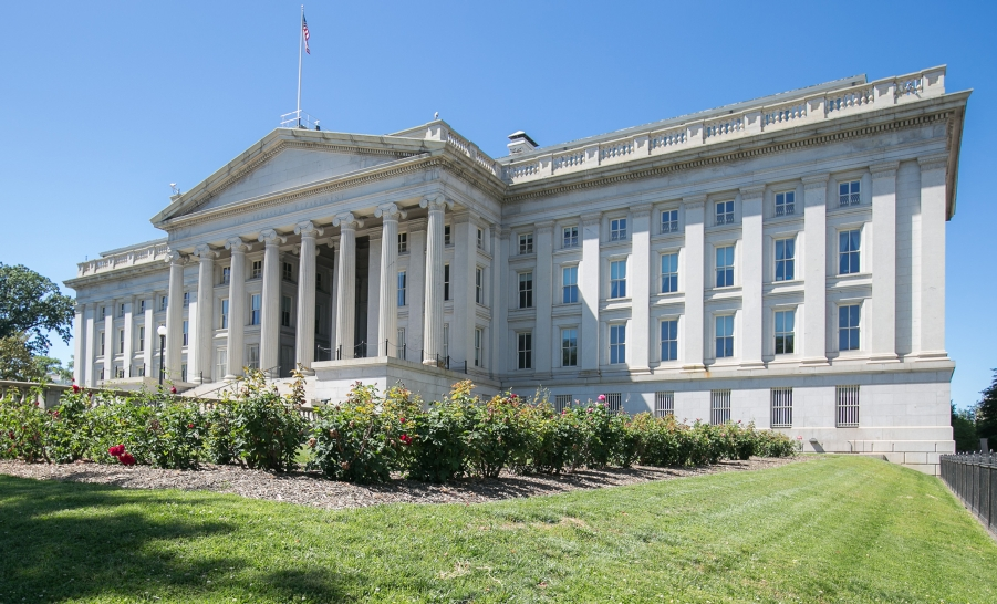 Department of Treasury Building